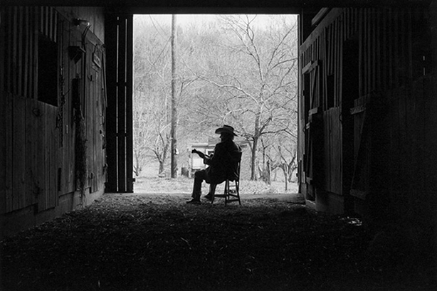 Bill Monroe, Last Winter, 1995. Archival pigment print. © Marty Stuart