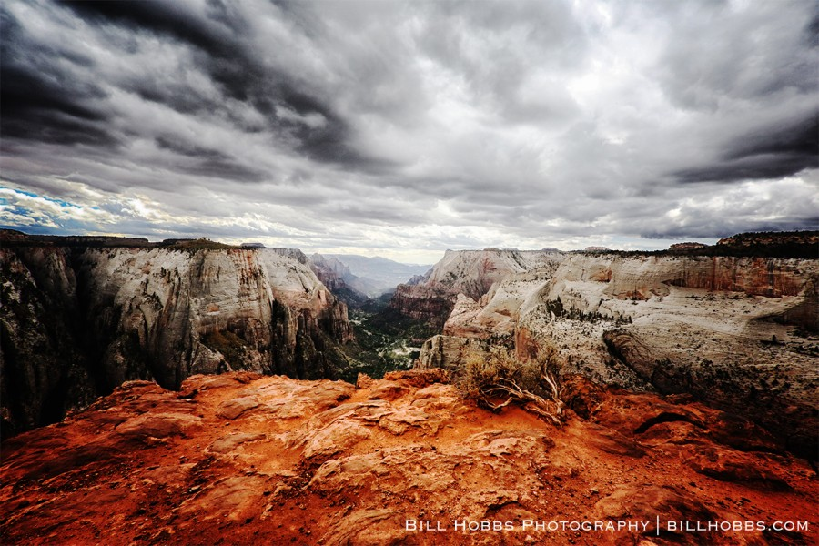 Storm Over Zion Canyon